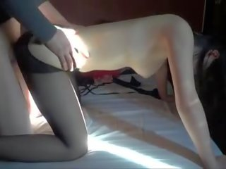Chinese Amateur Having adult video In Hotel Part 2